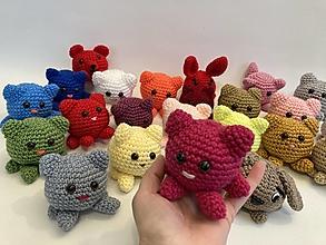 Hračky - zvieratká mix farieb - 13221413_