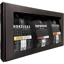 Potraviny - Darčekový set Honduras, Costa Rica, Espresso - 13223724_
