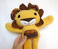 Hračky - Maňuška lev - Rodinka Kráľových od Tichej pláne - 13226488_