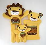 Hračky - Maňuška lev - Rodinka Kráľových od Tichej pláne - 13226489_