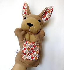 Hračky - Maňuška klokan - Kengura z Malej doliny - 13223537_