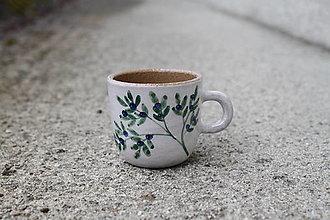 Nádoby - Espresso-hrnček čučoriedkový 1,5dcl  - 13223991_