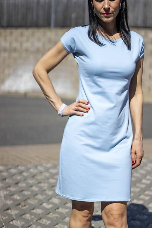 Šaty - Světle modré šaty  - 13226149_