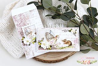 Papiernictvo - Pohľadnica so zdobenou obálkou I - 13226820_
