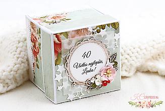 Papiernictvo - Darčeková krabička k narodeninám V - 13229162_