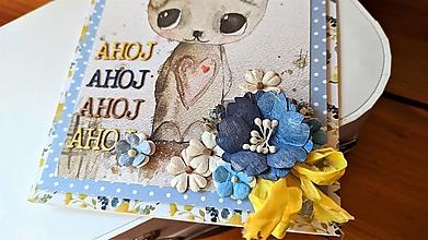 Papiernictvo - Ahoj Macko pohľadnica - 13227394_