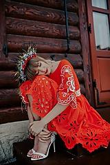 Šaty - madeirové šaty Očovianka - 13228017_