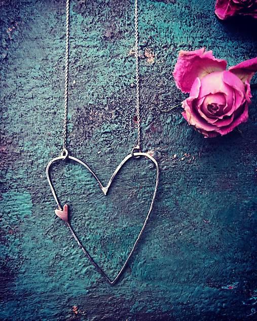 Strieborný náhrdelník - Neha I.