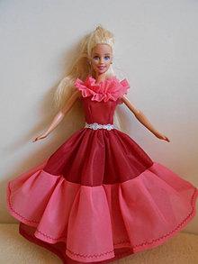Hračky - Šaty pre barbie - 13227909_