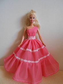 Hračky - Šaty pre barbie - 13227940_