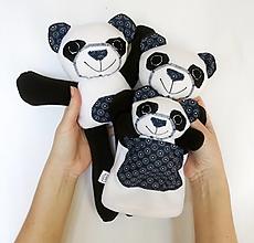 Hračky - Maňuška panda - Rodinka Tmavookých od Modrého údolia - 13229719_