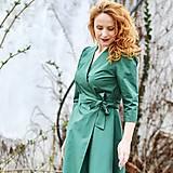 Šaty - GRÉTA - zavinovacie šaty z prémiovej bavlny - 13230216_