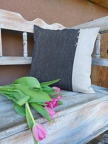 Úžitkový textil - Obliečka na vankúš Gentleman I - 13230469_