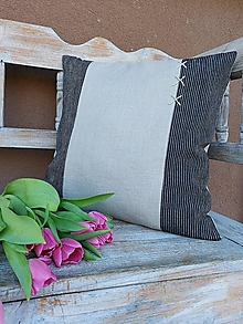 Úžitkový textil - Obliečka na vankúš Gentleman II - 13230481_