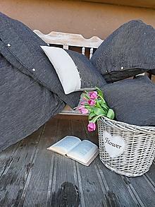 Úžitkový textil - Posteľné obliečky Gentleman - 13230528_