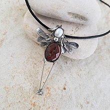 Náhrdelníky - Andělka EMILIA náhrdelník - 13233240_