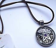Náhrdelníky - Náhrdelník Pentagram - 13233985_