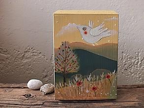 Krabičky - Pokladnička krajinková - 13233502_
