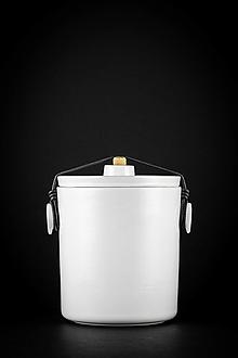 Nádoby - Kvašák bílý lesklý - 13234071_