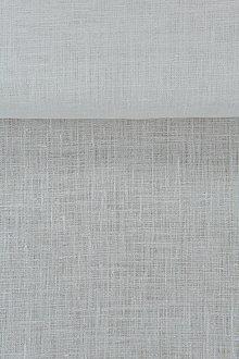 Textil - 100% ľan biely 125g (ako materiál alebo šitie na želanie) - 13234737_