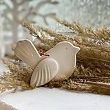 Dekorácie - Jarný vtáčik na zavesenie, väčší. - 13233263_