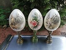 Dekorácie - vajíčka na stojane - 13233630_