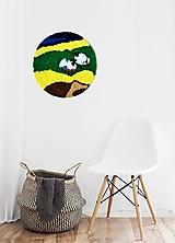 Obrazy - Ovečky-tapiséria - 13237690_