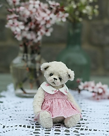 Hračky - Mini medvedica Ivetka - 13235409_