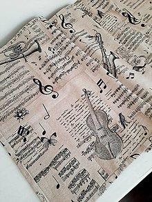 Úžitkový textil - ...štóla pre hudobníkov... - 13234965_