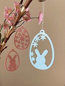 Dekorácie - Veselé veľkonočné vajíčka - 13235429_