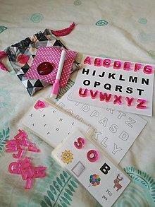 Hračky - Malá abeceda 1 - 13237084_