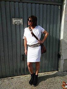Šaty - Simply whitte - 13240974_