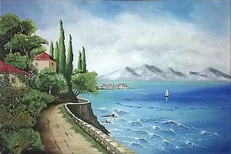Obrazy - Dom nad morom - 13238200_