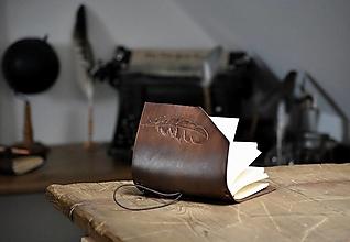 Papiernictvo - kožený midori zápisník KARIANNA - 13238368_