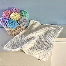 Textil - * bielučká pavučinka * z Alize Puffy - 13240127_