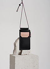 Na mobil - Phone purse BlackNude - 13241428_