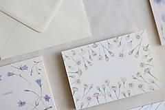 Papiernictvo - Láskavý pozdrav s osobným prianím | botanická ilustrácia Hloh - 13238708_