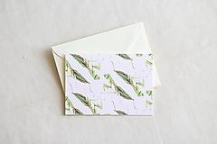 Papiernictvo - Akvarelová pohľadnica | ilustrácia Modlivky - 13238718_