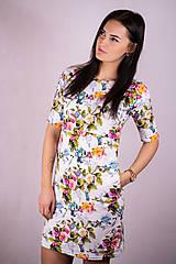 Tehotenské/Na dojčenie - Šaty na dojčenie - kolibríky a ruže - 13242023_