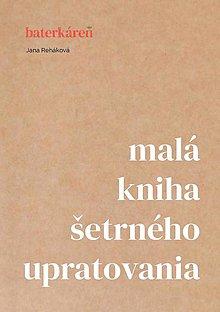 Knihy - Malá kniha šetrného upratovania (e-book) - 13239594_