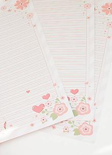 """Papier - Listový papier """"Láska"""" - 13241851_"""