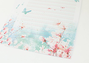 """Papier - Listový papier """"Magnólia"""" - 13241858_"""