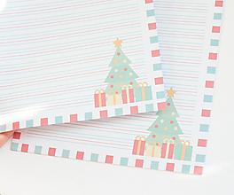 """Papier - Listový papier """"December"""" - 13241867_"""