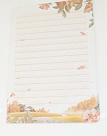 """Papier - Listový papier """"Na samote"""" - 13241877_"""