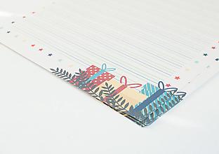 """Papier - Listový papier """"Darčeky"""" - 13241901_"""