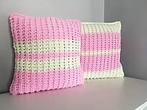 Úžitkový textil - Vankúše z Alize Puffy Fine 40x40cm - 2ks - 13238860_