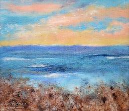 """Obrazy - Arttexový obraz """"Šum morských vĺn"""" - 13245210_"""