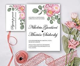 Papiernictvo - Svadobné oznámenie 85 - 13246100_