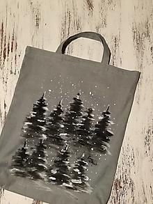 Nákupné tašky - Sneží... nákupná taška - 13245743_