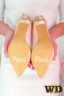 Papiernictvo - Nálepky na svadobné topánky - 13244159_